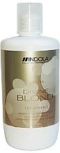 Düfte, Parfümerie und Kosmetik Haarmaske für blondes Haar - Indola Divine Blond Treatment