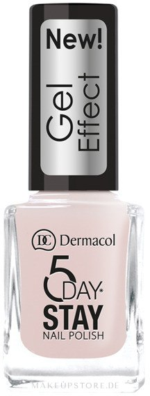 Nagellack - Dermacol 5 Day Stay Gel Effect Nail Polish — Bild 26 - Satine