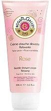 Düfte, Parfümerie und Kosmetik Sanfte Duschcreme mit Rosenduft - Roger & Gallet Rose Gentle Shower Cream Relaxing