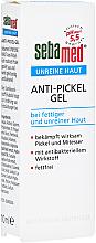 Düfte, Parfümerie und Kosmetik Antibakteielles Gesichtsgel gegen Pickel und Mitesser für fettige und unreine Haut - Sebamed Unreine Haut Anti-Pickel Gel