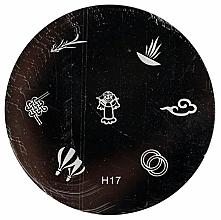 Düfte, Parfümerie und Kosmetik Stempelscheibe H17 - Ronney Professional