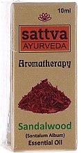 Düfte, Parfümerie und Kosmetik Ätherisches Sandelholzöl - Sattva Ayurveda Sandalwood Essential Oil