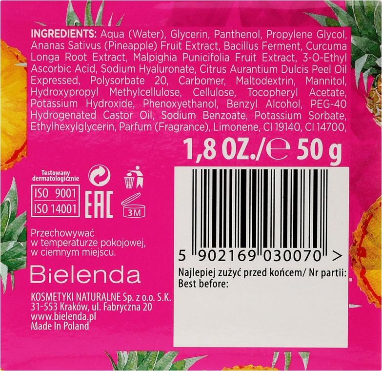 Revitalisierende Gesichtsmaske mit Ananas und Vitamin C - Bielenda Juicy Jelly Mask — Bild N3