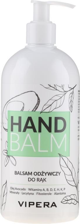 Pflegender Handbalsam mit Avocadoöl - Vipera Nourishing Hand Balm