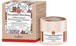 Düfte, Parfümerie und Kosmetik Straffende und glättende Bio Tagescreme 50+ - Farmona Canadian BioLifting Red Maple