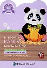 Düfte, Parfümerie und Kosmetik Tuchmaske für Gesicht Panda - Belleza Castillo Edge Cutimal Panda Nutriment Mask