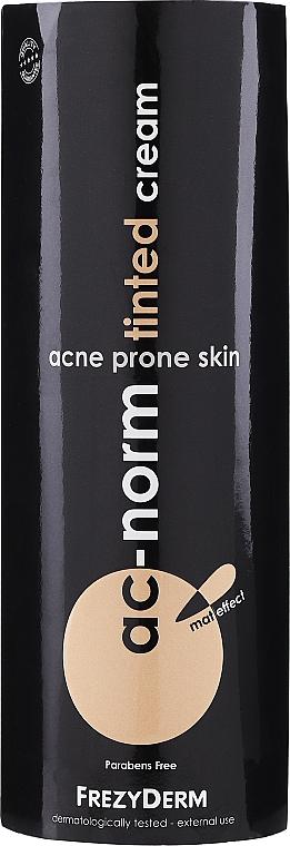 Getönte beruhigende und seboregulierende Gesichtscreme für zu Akne neigende Haut - Frezyderm Ac-Norm Tinted Cream — Bild N1
