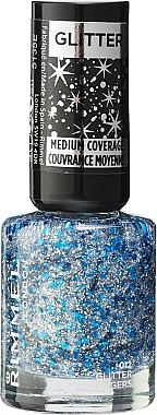 Nagellack - Rimmel Glitter Medium Coverage — Bild N1