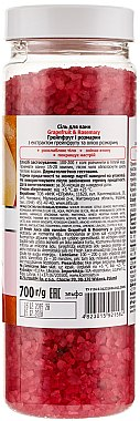 Badeperlen Grapefruit & Rosmarin - Fresh Juice Bath Bijou Rubin Grapefruit and Rosemary — Bild N2
