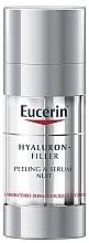 Düfte, Parfümerie und Kosmetik Regenerierendes Peeling-Serum für die Nacht mit Hyaluronsäure - Eucerin Hyaluron-Filler Peeling & Serum Night