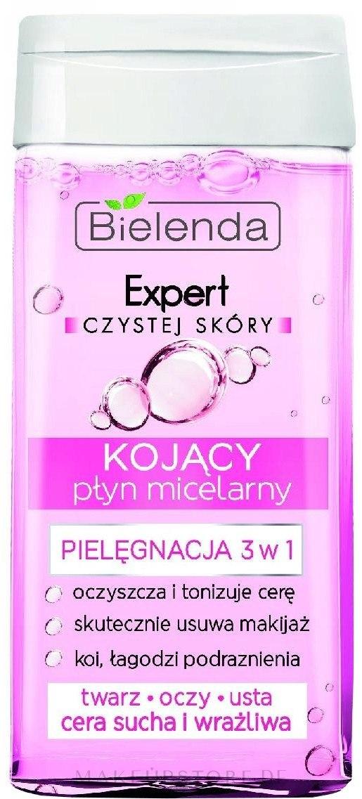 Beruhigendes Mizellen-Reinigungswasser 3 in 1 - Bielenda Expert Czystej Skyry — Bild 30 ml