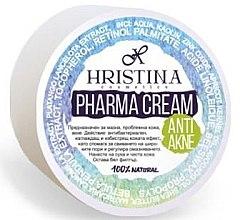 Düfte, Parfümerie und Kosmetik Anti-Akne Gesichtscreme - Hristina Cosmetics Pharma Cream Anti Akne