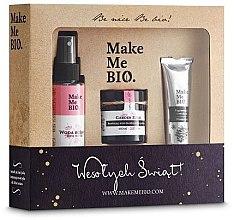 Düfte, Parfümerie und Kosmetik Gesichtspflegeset - Make Me Bio (Gesichtscreme 60ml + Rosenwasser 100ml + Handcreme 30ml)