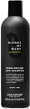 Düfte, Parfümerie und Kosmetik Anti-Schuppen Shampoo mit Hefeextrakt - Alfaparf Milano Blends Of Many Rebalancing Low Shampoo