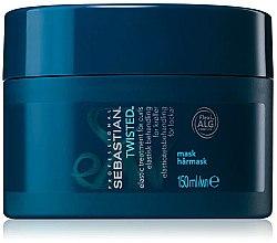 Düfte, Parfümerie und Kosmetik Haarmaske für lockiges und gewelltes Haar mit Rotalgen-Extrakt - Sebastian Professional Twisted Elastic Treatment