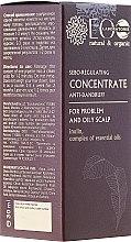 Düfte, Parfümerie und Kosmetik Seboregulierendes Anti-Schuppen Konzentrat mit ätherischen Ölen für fettige Kopfhaut - ECO Laboratorie