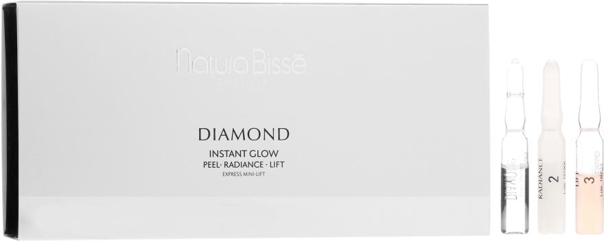 3-stufige Anti-Aging Gesichtsampullen - Natura Bisse Diamond Instant Glow Express Mini-Lift — Bild N1