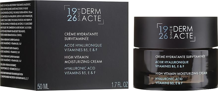Feuchtigkeitsspendende Gesichtscreme mit Hyaluronsäure und Vitamin B5, E und F - Academie Creme Hydratante Survitaminee