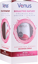 Düfte, Parfümerie und Kosmetik Körperpflegeset - Venus (Duschöl 250ml + Körperöl 150ml + Badeschwamm)