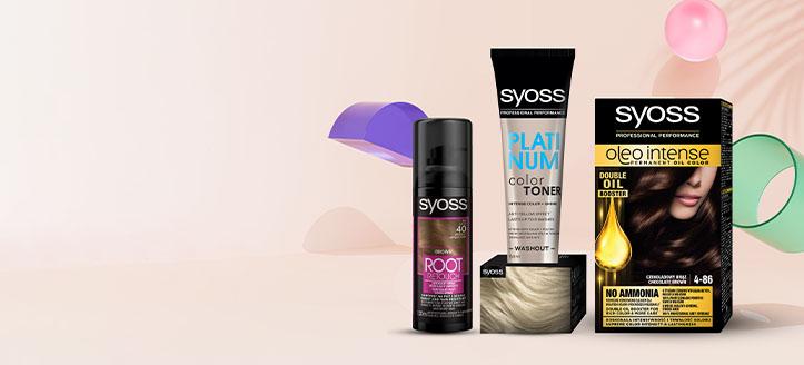 25% Rabatt auf Aktions-Haarpflegeprodukte von Syoss. Die Preise auf der Website sind inklusive Rabatt