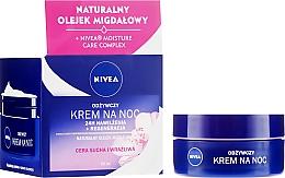 Düfte, Parfümerie und Kosmetik Regenerierende nährende Nachtcreme - Nivea 24H Moisturizing Regeneration & Nourishing Night Cream