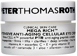 Düfte, Parfümerie und Kosmetik Intensive Anti-Aging zelluläre Augenkonturcreme - Peter Thomas Roth Mega-Rich Intensive Anti-Aging Cellular Eye Cream