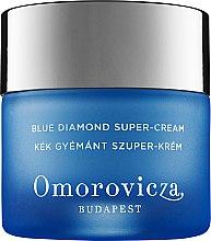 Düfte, Parfümerie und Kosmetik Feuchtigkeitsspendende Anti-Aging Gesichtscreme - Omorovicza Blue Diamond Supercream