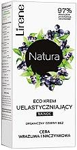 Düfte, Parfümerie und Kosmetik Straffende Nachtcreme für empfindliche und Kapillarhaut mit schwarzem Flieder - Lirene Natura Eco Cream