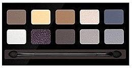 Düfte, Parfümerie und Kosmetik Lidschattenpalette mit 10 Farben - Pierre Rene Palette Match System Eyeshadow Sunsed Mood