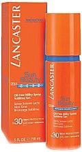 Düfte, Parfümerie und Kosmetik Ölfreie Spray-Körpermilch mit Sonnenschutz SPF 30 - Lancaster Sun Beauty Oil-Free Milky Spray SPF 30