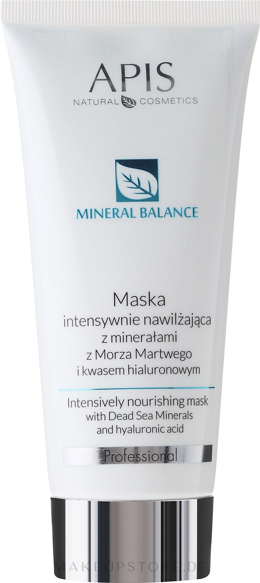 Intensiv pflegende Gesichtsmaske mit Mineralien aus dem Toten Meer - APIS Professional Hydro Balance Intensively Nourishing Mask — Bild 200 ml