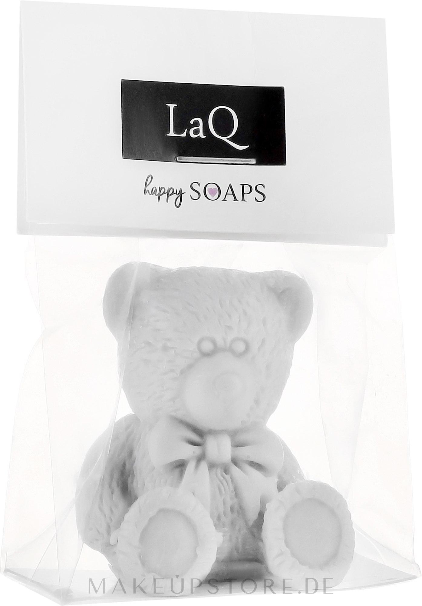 Handgemachte Glycerinseife Teddybär mit Ananasduft - LaQ Happy Soaps Natural Soap — Bild 30 g