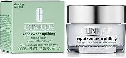 Düfte, Parfümerie und Kosmetik Intensiv festigende und straffende Anti-Aging Gesichtscreme für trockene, fettige und Mischhaut - Clinique Repairwear Uplifting Firming Cream SPF15 Skin Type 2,3