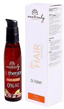 Haar- und Körperöl mit Argan und Jojoba - One & Only Cosmetics for Hair and Body Argan & Jojoba Oil — Bild N1