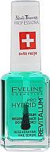 Regenerierendes Nagelserum für Hybrid-Lack - Eveline Cosmetics Nail Therapy Professional Revitalum Pro Hybrid — Bild N2