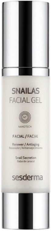 Anti-Aging Gesichtsgel mit Schneckensekret - SesDerma Laboratories Snailas Gel Facial — Bild N2