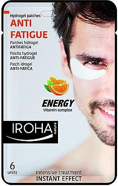 Gelpatches gegen müde Augen mit Vitaminen - Iroha Nature Anti-Fatigue Energy Vitamin Complex — Bild N1
