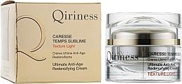 Düfte, Parfümerie und Kosmetik Regenerierende Anti-Aging Gesichtscreme - Qiriness Caresse Temps Sublime Light