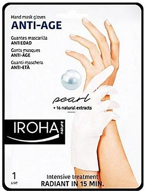 Hand- und Nagelmaske - Iroha Nature Anti Age Hand Mask Gloves — Bild N1