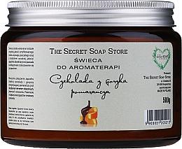 Düfte, Parfümerie und Kosmetik Aromatherapie-Duftkerze im Glas Schokolade mit Orange - The Secret Soap Store Aromatherapy Candle