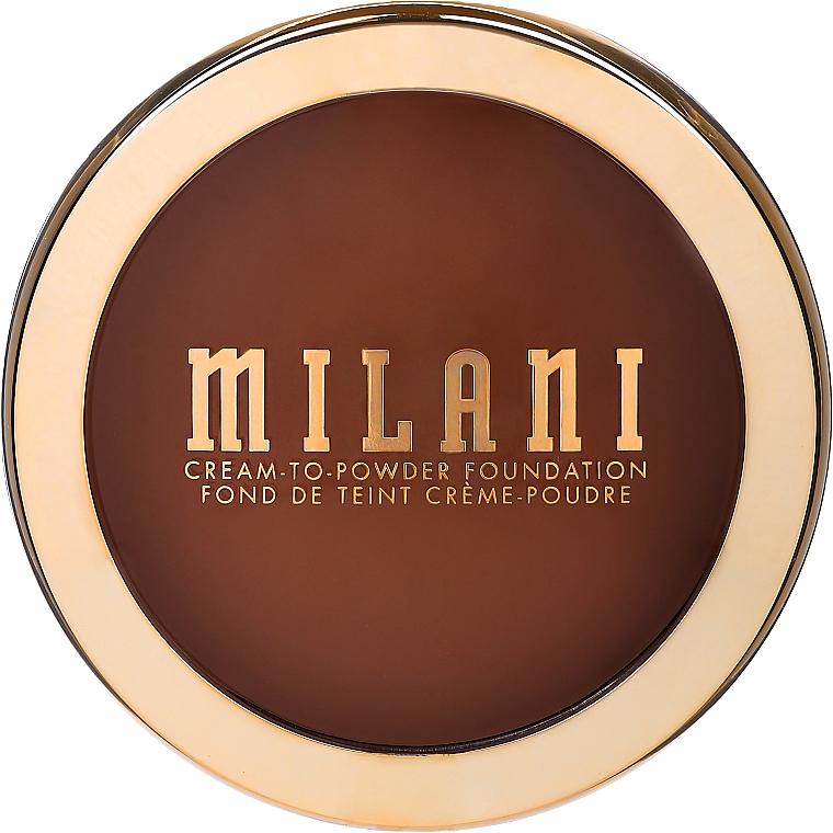Cremige Puder-Foundation mit mattem Finish - Milani Conceal + Perfect Smooth Finish Cream To Powder — Bild N1
