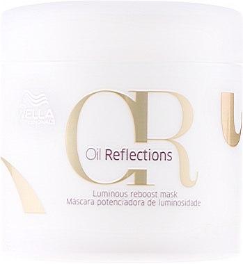 Pflegende Maske für strahlendes und glattes Haar - Wella Professionals Oil Reflections Luminous Reboost Mask — Bild N1