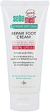 Düfte, Parfümerie und Kosmetik Intensive feuchtigkeitsspenende Fußcreme für sehr trockene Haut mit 10% Harnstoff - Sebamed Extreme Dry Skin Repair Foot Cream 10% Urea