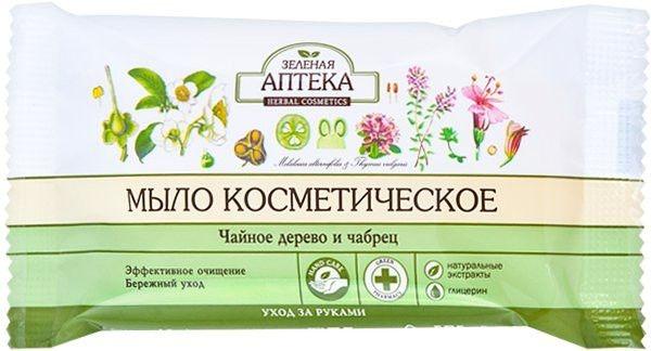 Seife Teebaum und Thymian - Green Pharmacy — Bild N1