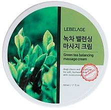 Düfte, Parfümerie und Kosmetik Ausgleichende Massagecreme mit grünem Tee - Lebelage Green Tea Balancing Massage Cream