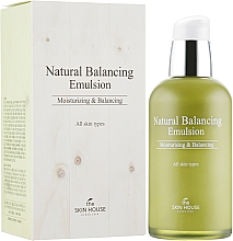 Düfte, Parfümerie und Kosmetik Feuchtigkeitsspendende und balancierende Gesichtsemulsion für alle Hauttypen - The Skin House Natural Balancing Emulsion