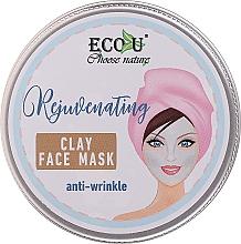 Düfte, Parfümerie und Kosmetik Anti-Aging Gesichtsmaske mit Tonerde - Eco U Anti-Wrinkle Clay Face Mask