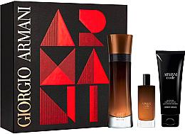 Düfte, Parfümerie und Kosmetik Giorgio Armani Armani Code Profumo - Duftset (Eau de Parfum 110ml + Eau de Parfum 15ml + Duschgel 75ml)