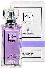 Düfte, Parfümerie und Kosmetik 42° by Beauty More VI Sophistiquee Pour Femme - Eau de Parfum