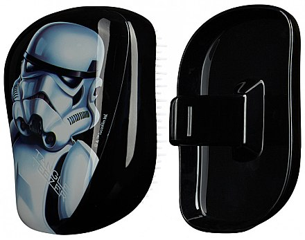 Kompakte Haarbürste - Tangle Teezer Compact Styler Star Wars Storm Trooper Brush — Bild N1